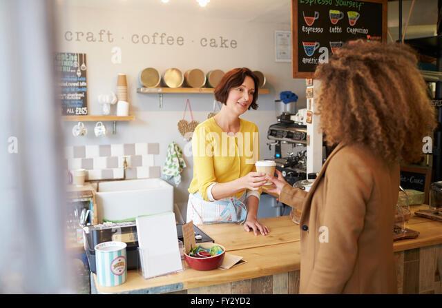 Tea Room Waitress Portrait
