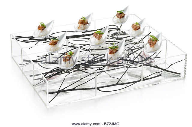 Canape tray stock photos canape tray stock images alamy for Canape serving platters