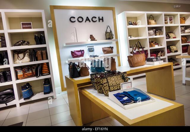 coach purse outlet sale nh1k  Vero Beach Florida Vero Beach Outlets shopping Coach store inside women's handbags  sale display
