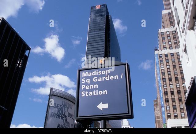 Madison Square Garden Arena Stock Photos Madison Square Garden Arena Stock Images Alamy