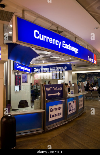 Travelex exchange in heathrow terminal 5 departures for Bureau change
