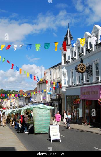 Chepstow United Kingdom  city photos : ... Street, Chepstow, Monmouthshire, Wales, United Kingdom Stock Image