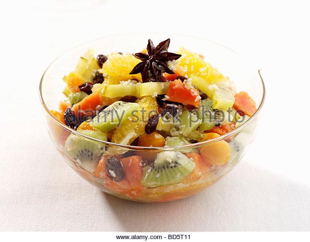 fruit punch bowl exotic fruits