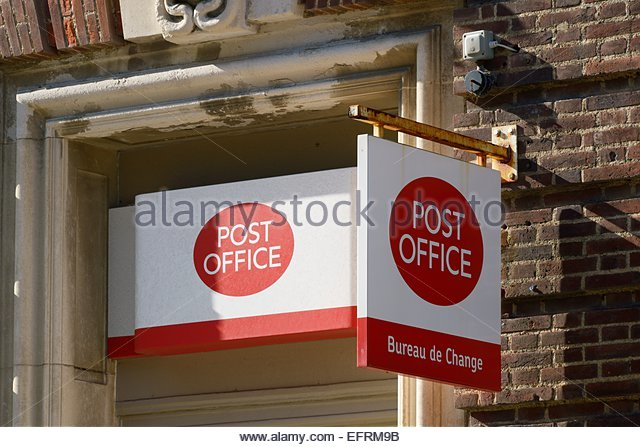 Company logos high street stock photos company logos - Post office bureau de change buy back ...