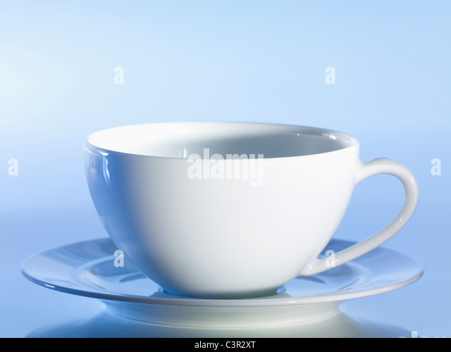 Cup And Saucer Blue Stock Photos & Cup And Saucer Blue ...