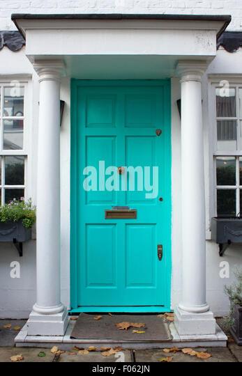Turquoise door - Stock Image & Turquoise Door Stock Photos u0026 Turquoise Door Stock Images - Alamy pezcame.com