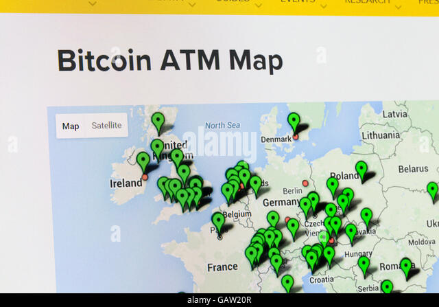 Screenshot Of The Bitcoin Website