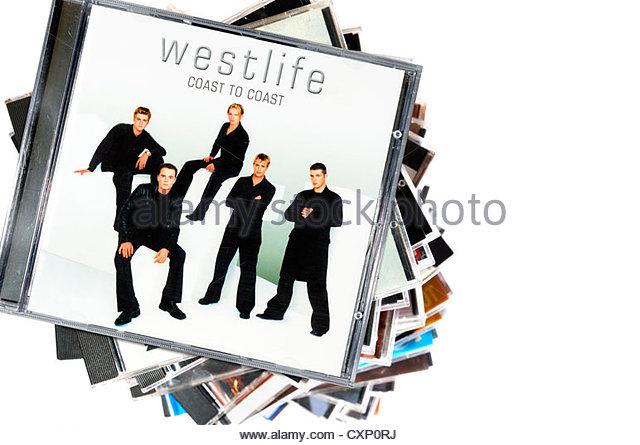 westlife album coast coast piled stock photos amp westlife