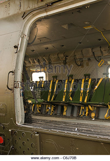 Seat Inside Military Helicopter Stock Photos Amp Seat Inside