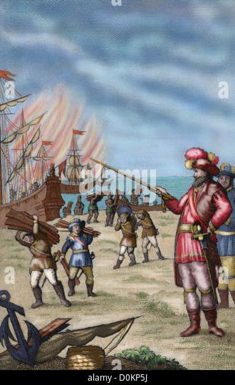 Hernan cortes 1488 1547 spanish conqueror of mexico cortes