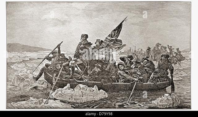 Washington Crossing The Delaware Stock Photos & Washington ...