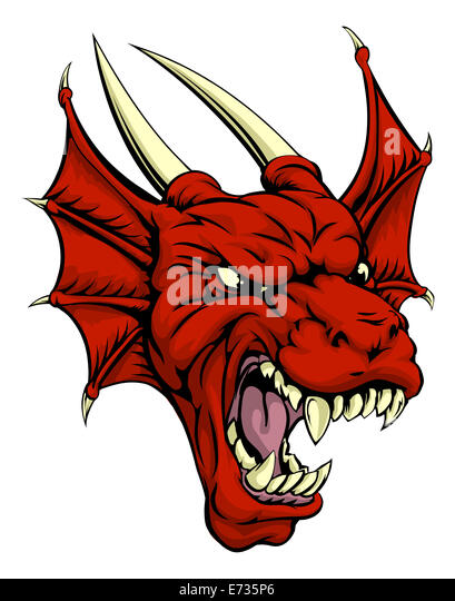 welsh dragon cut out stock images pictures alamy. Black Bedroom Furniture Sets. Home Design Ideas