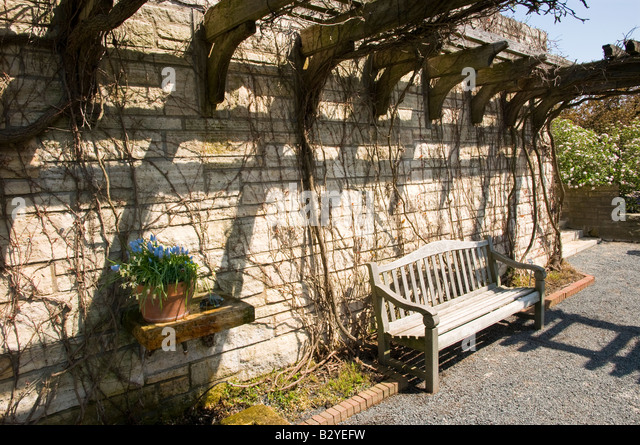 trellis bench stock photos trellis bench stock images alamy