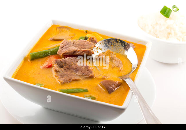 Thai beef curry stock photos thai beef curry stock for Authentic thai cuisine