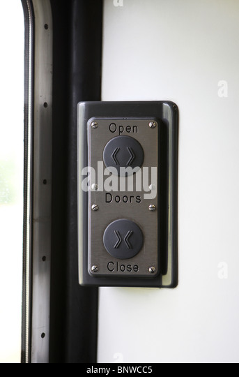 Open and close door release buttons on a National Express train UK - Stock Image & Train Door Button Stock Photos \u0026 Train Door Button Stock Images ... Pezcame.Com