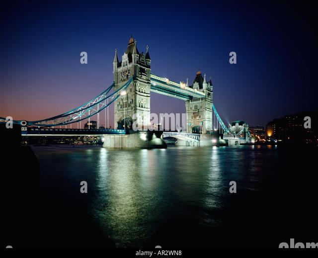 bridge gb night london - photo #3