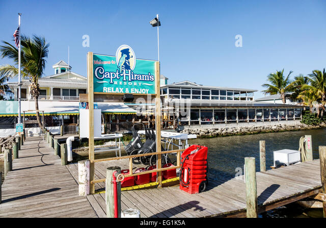 Captain Hiram S Restaurant In Sebastian Florida