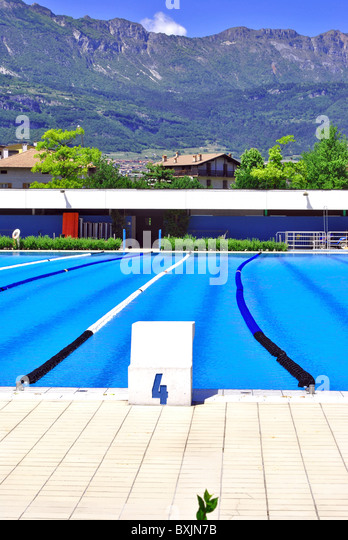 Swimming Pool Lane Shallow Stock Photos Swimming Pool Lane Shallow Stock Images Alamy