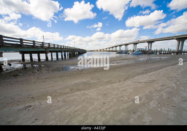 Vilano stock photos vilano stock images alamy for St augustine fishing pier