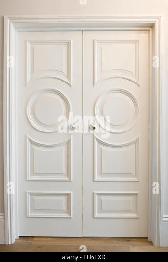 White Double Door