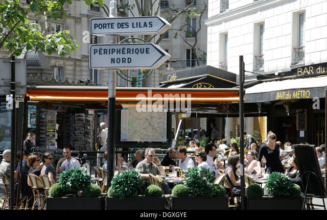 Paris House Bar Restaurant Stock Photos & Paris House Bar ...