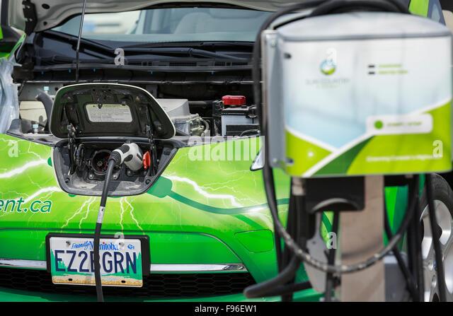 Electric Cars Canada Stock Photos Electric Cars Canada Stock