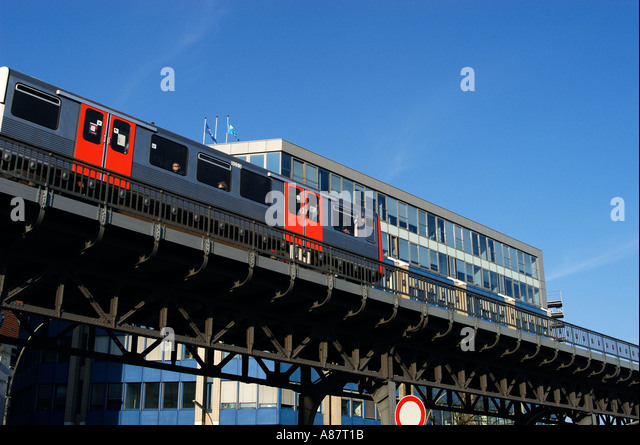 urban railway s bahn system stock photos urban railway s bahn system stock images alamy. Black Bedroom Furniture Sets. Home Design Ideas