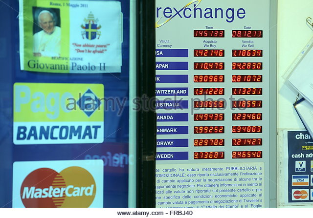 Exchange rates countries stock photos exchange rates - Post office bureau de change exchange rates ...