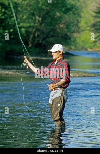 Fly fishing pennsylvania usa stock photos fly fishing for Fishing in pennsylvania