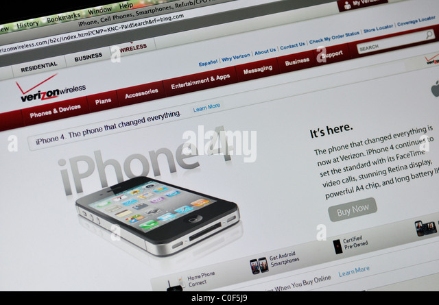 Verizon Stock Photos & Verizon Stock Images - Alamy