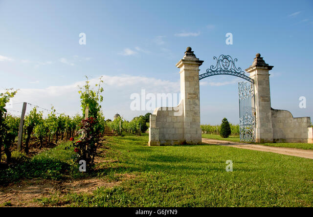 vineyard entrance stock photos vineyard entrance stock images alamy. Black Bedroom Furniture Sets. Home Design Ideas