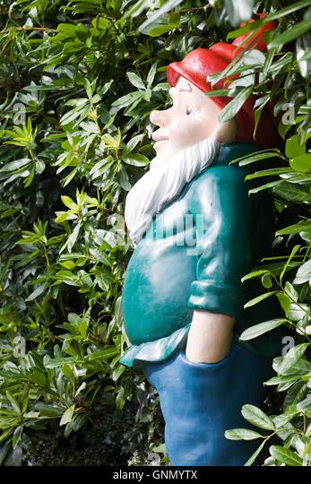 Giant Garden Gnomes   Stock Image