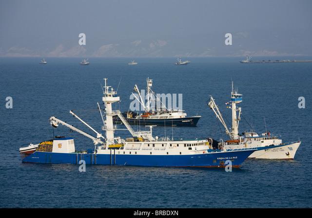 Tuna fishing boat stock photos tuna fishing boat stock for Fishing in ecuador