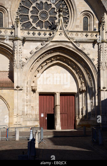 Gothic Western Entrance Doors and Rose Window of Saint Etienne Cathedral Toulouse France - Stock Image & Gothic Doors Stock Photos \u0026 Gothic Doors Stock Images - Alamy Pezcame.Com