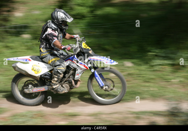Motorbike race stock photos motorbike race stock images for Cross country motor club phone number