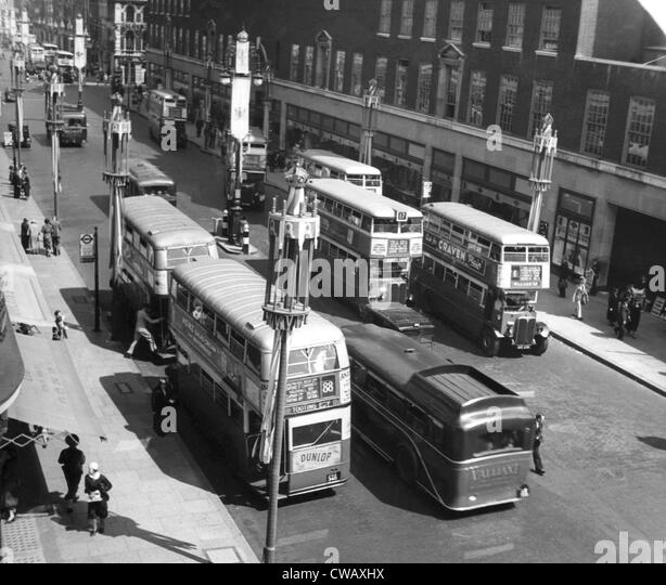 Image result for london bus strike 1937