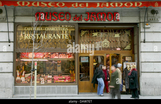Museum Ham Madrid Spain Stock Photos Museum Ham Madrid