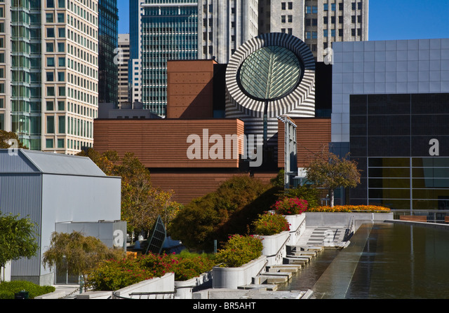 Museum of modern art san francisco stock photos museum for Contemporary art museum san francisco