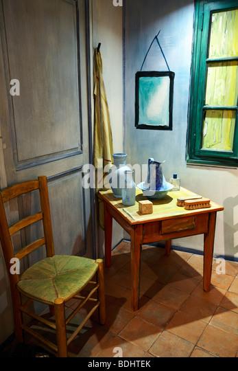 Gogh The Bedroom At Arles Stock Photos & Gogh The Bedroom At Arles ...