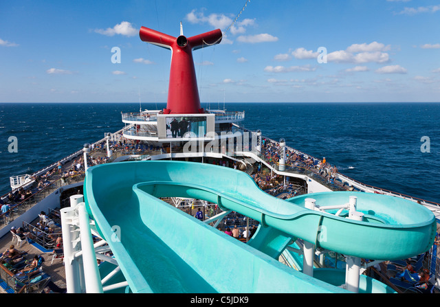 Cruise Ship Water Slide Stock Photos Cruise Ship Water Slide - Cruise ship slide