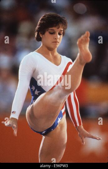 You were Mary lou retton that