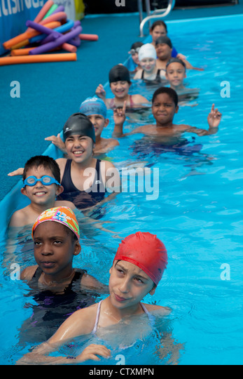 Swimming Pool Uk Children Stock Photos Swimming Pool Uk Children Stock Images Alamy