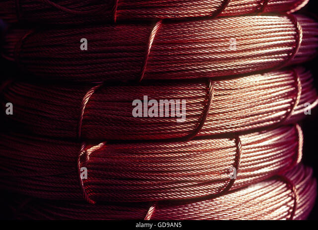 Copper Wire Stock Photos & Copper Wire Stock Images - Alamy