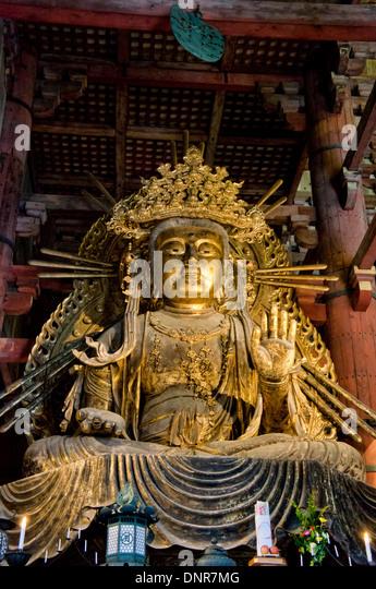Statue Of Buddha Nara Stock Photos & Statue Of Buddha Nara ...