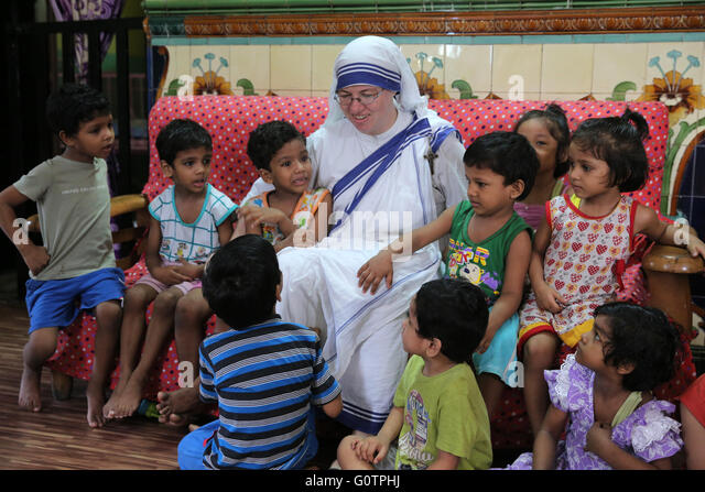 Mother Teresa Orphanage Stock Photos & Mother Teresa ...
