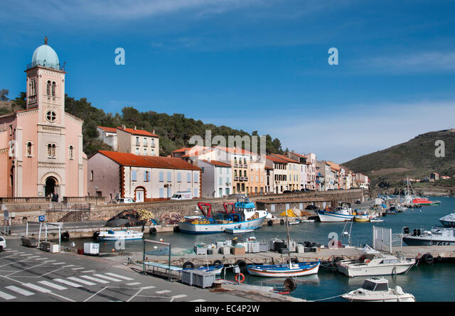 Port Vendres Stock Photos Port Vendres Stock Images Alamy - Location port vendres
