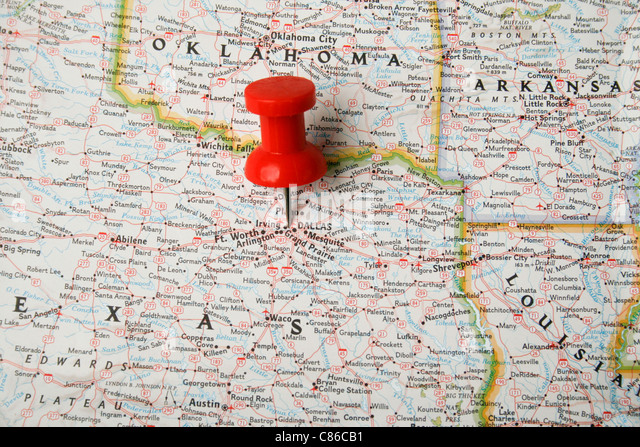 Map State Texas Stock Photos  Map State Texas Stock Images  Alamy