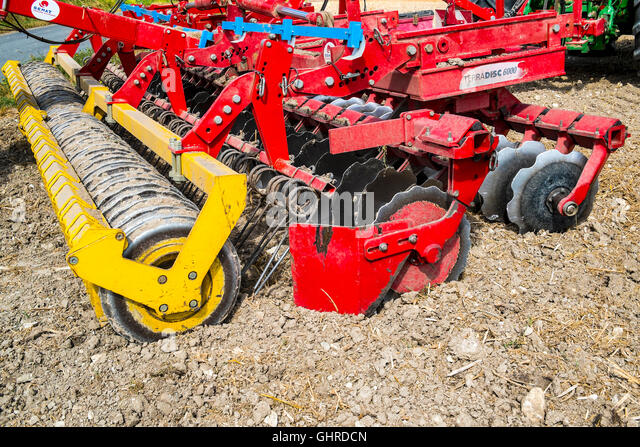 Rotary Tiller Cables : Rotavator stock photos images alamy