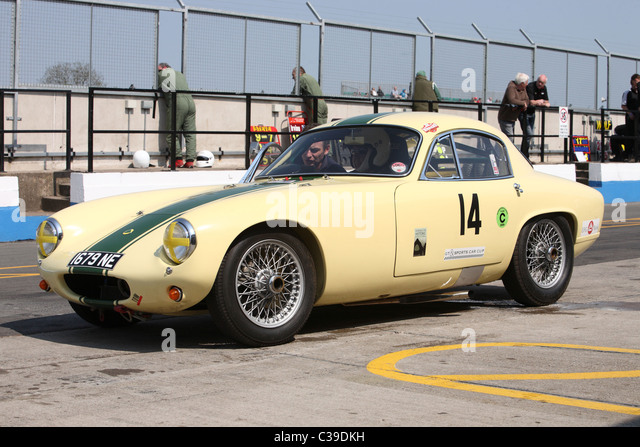 lotus elite sports car stock image