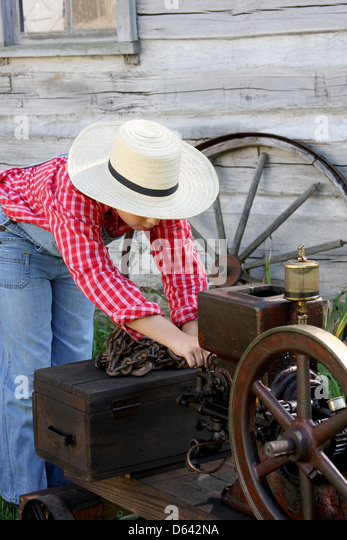 Steam Vintage Farmer Stock Photos & Steam Vintage Farmer Stock Images ...